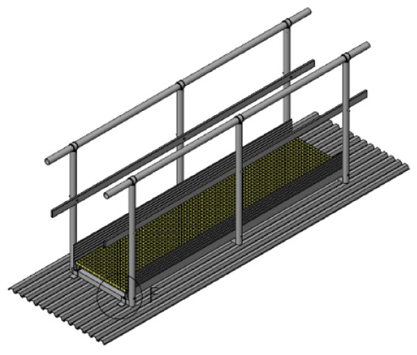 Fixed Step Over Ladder Product Image