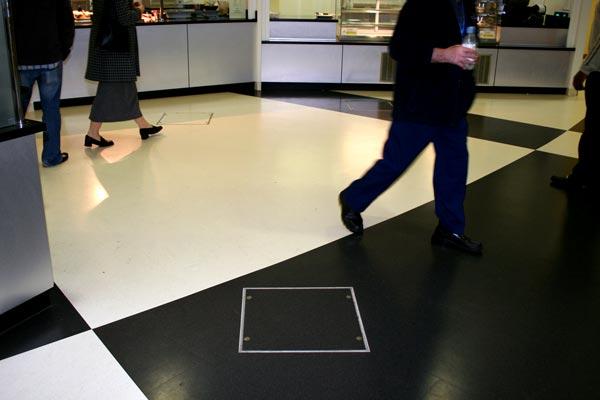 Howe Green Visedge Series Flexible Floor Access Cover