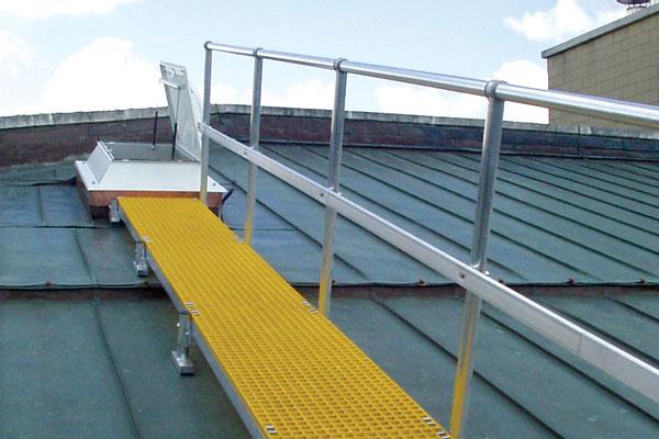 Type Bwalk Roof Mounted Walkway Bilco Uk