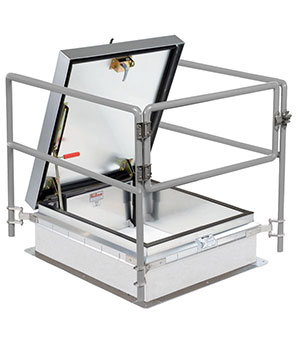 Roof Hatch Protection Railings Product Image