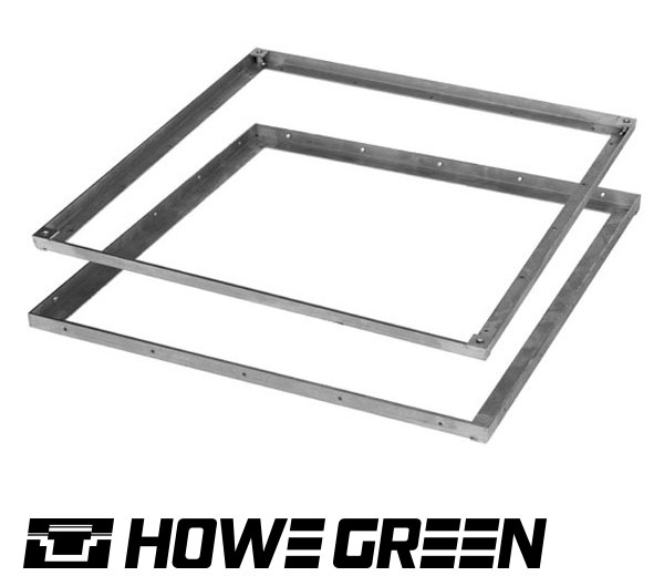 howe green wood floor access cover trims