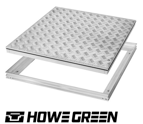 access cover tread plate for plant rooms