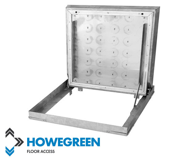 hinged floor access cover from howe green